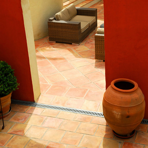 Floor tiles for a Mediterranean feel in residential and commercial locations